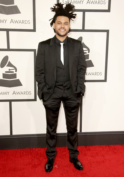 the-weeknd-grammys-2014-red-carpet-600