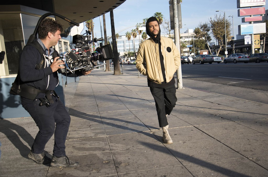Behind the Scenes of the Spring Icon collection by the Weeknd and H&M.