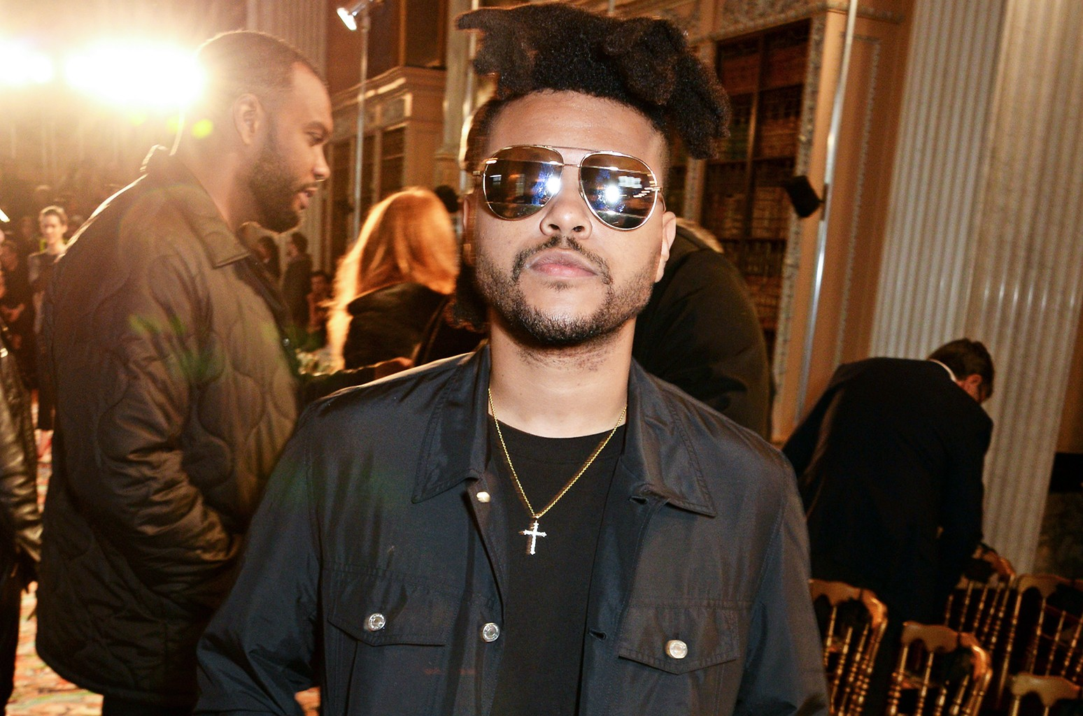 The Weeknd in 2016