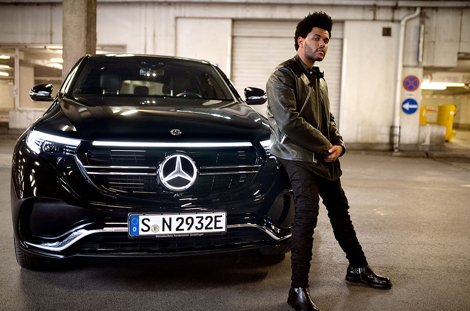 The Weeknd Partners With Mercedes Benz In New Electric Suv Ad Pitch Billboard