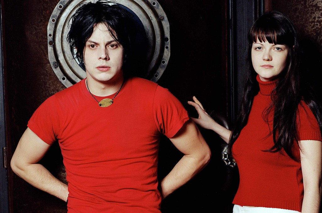 The White Stripes photographed in 2001.