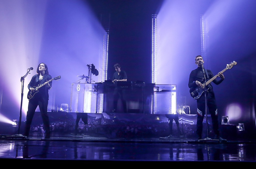 The XX perform at the O2 Academy Brixton on March 8, 2017 in London.