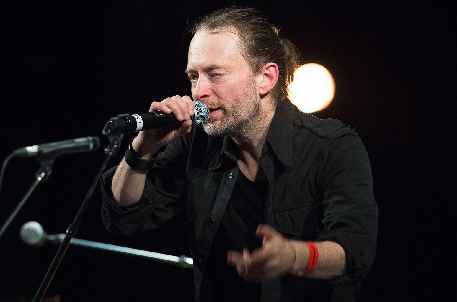 Thom Yorke in Paris