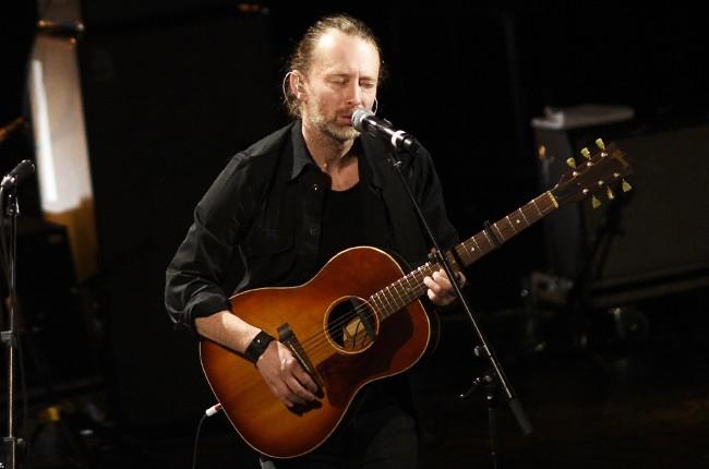 Thom Yorke Radiohead 2016