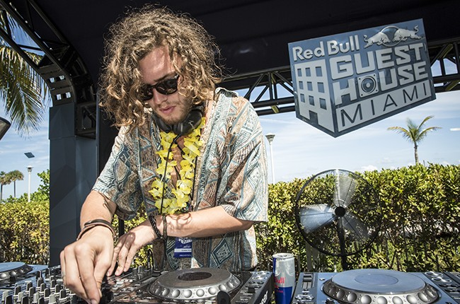 Thomas Jack performs at Red Bull Guest House in Miami, FL, USA on 29 March, 2015.