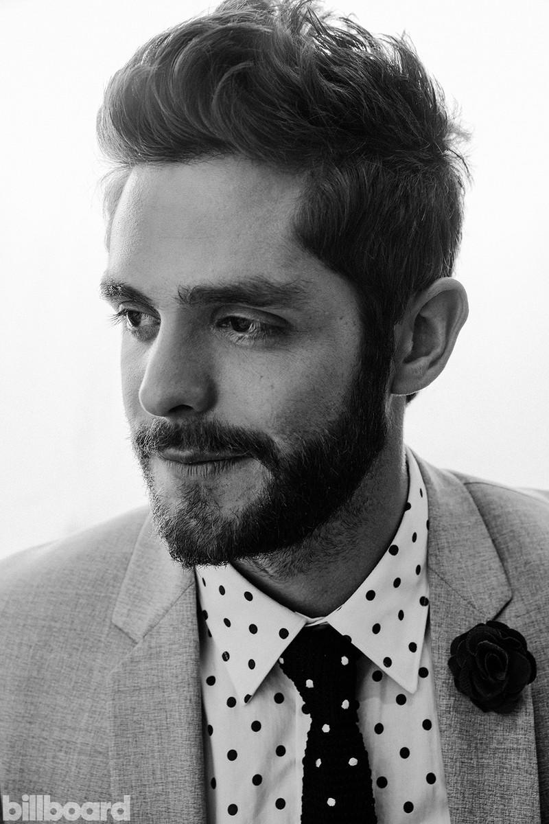 Thomas Rhett photographed backstage at the 2016 Billboard Music Awards