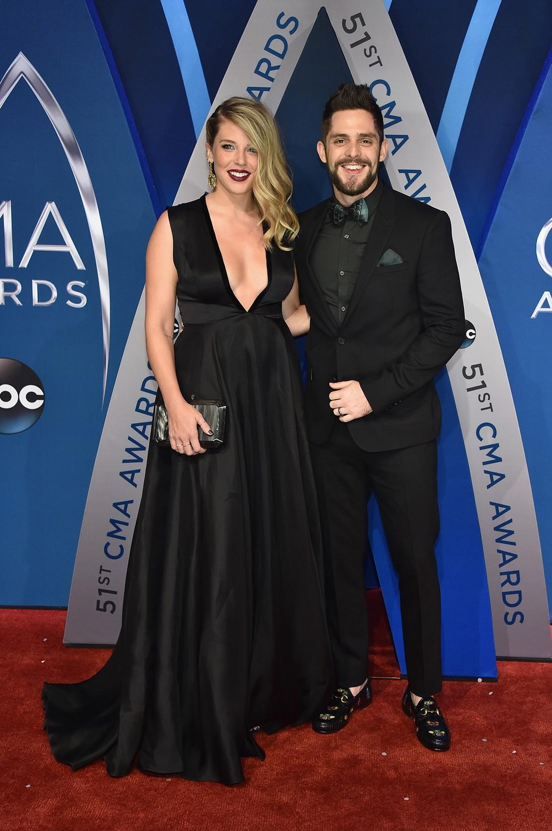 Lauren Akins and Thomas Rhett