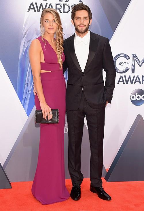 Thomas Rhett and Lauren Gregory CMA 2015