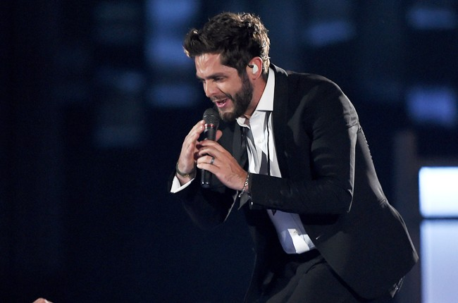 Thomas Rhett performs onstage during the 50th Academy Of Country Music Awards