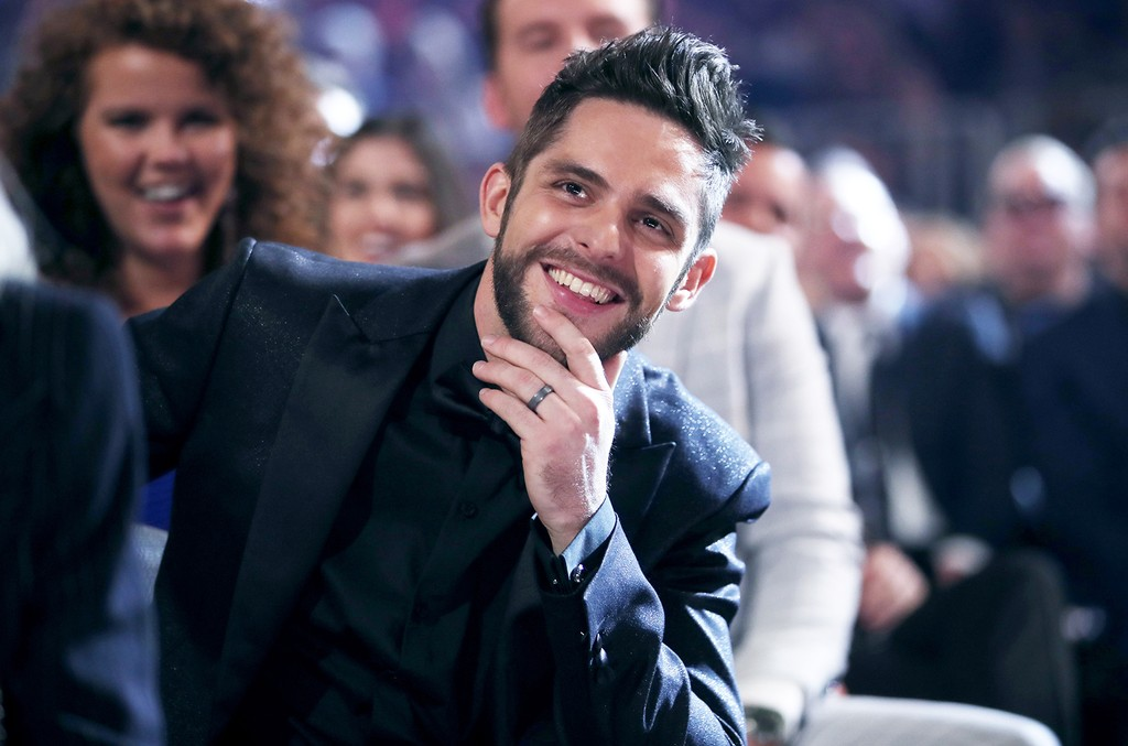 Thomas Rhett attends the 52nd Academy Of Country Music Awards at T-Mobile Arena on April 2, 2017 in Las Vegas.