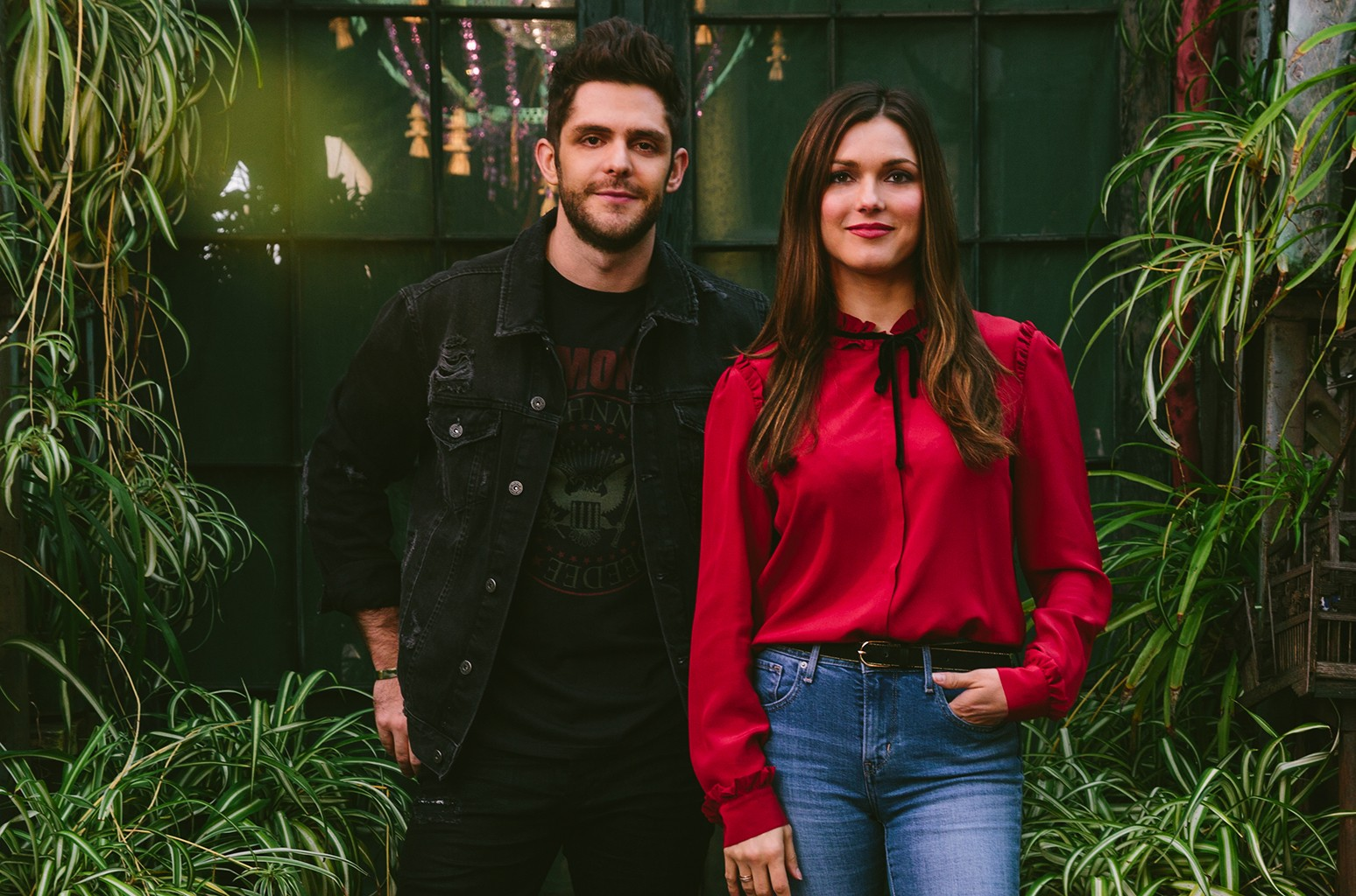 Thomas Rhett and Virginia Davis