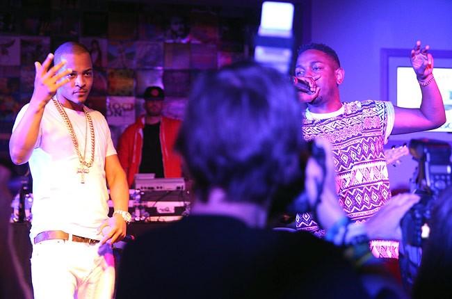 T.I. and Kendrick Lamar
