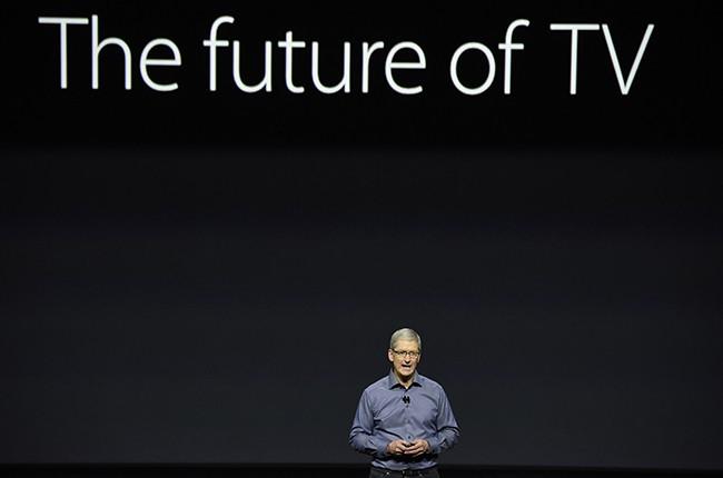 Tim Cook Apple TV 2015