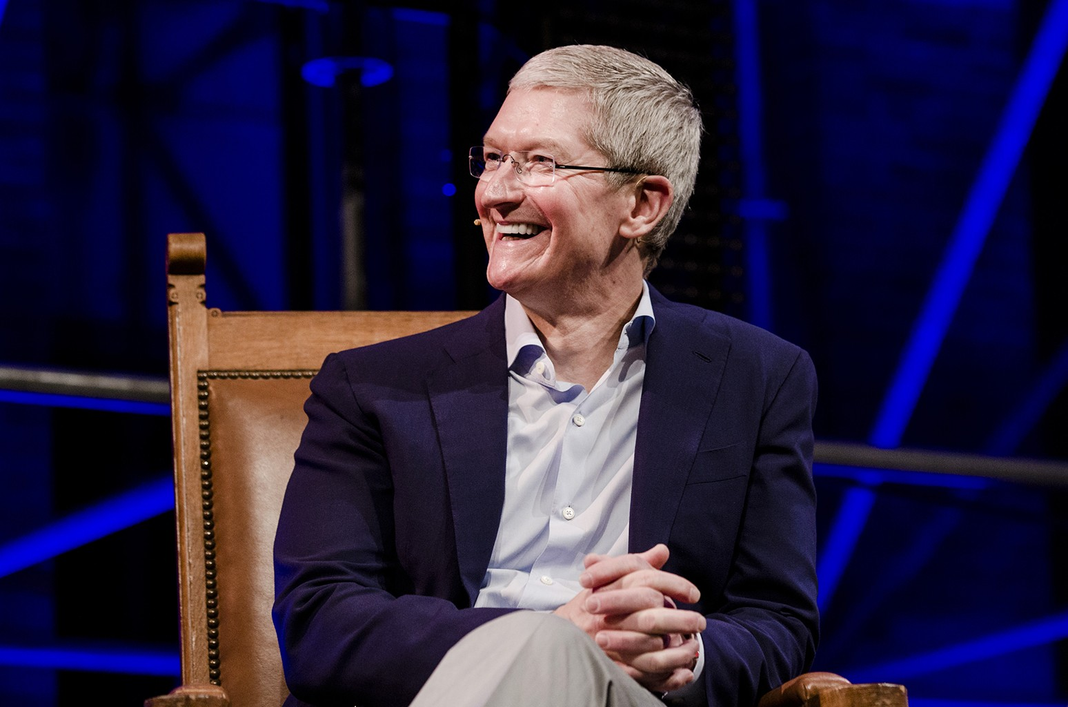 Tim Cook in 2016