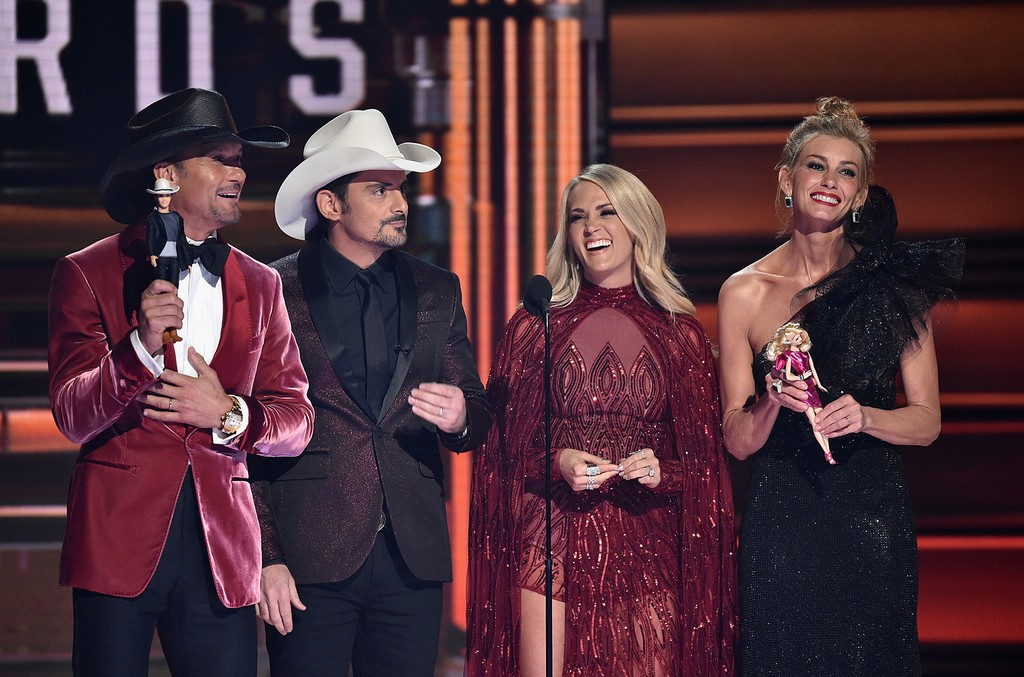 Tim McGraw, Brad Paisley, Carrie Underwood and Faith Hill