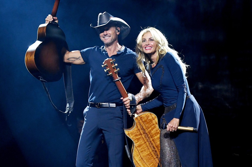 Tim McGraw & Faith Hill, 2017