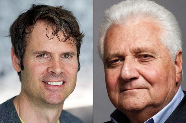 Tim Westergren and Martin Bandier