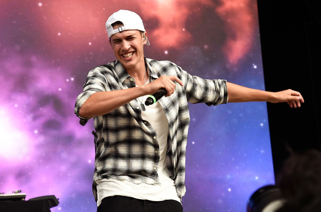 Timeflies performs onstage during the 2016 Billboard Hot 100 Festival