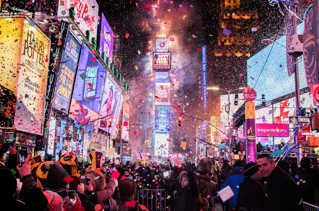 Times Square New Year's Eve Ball Drop