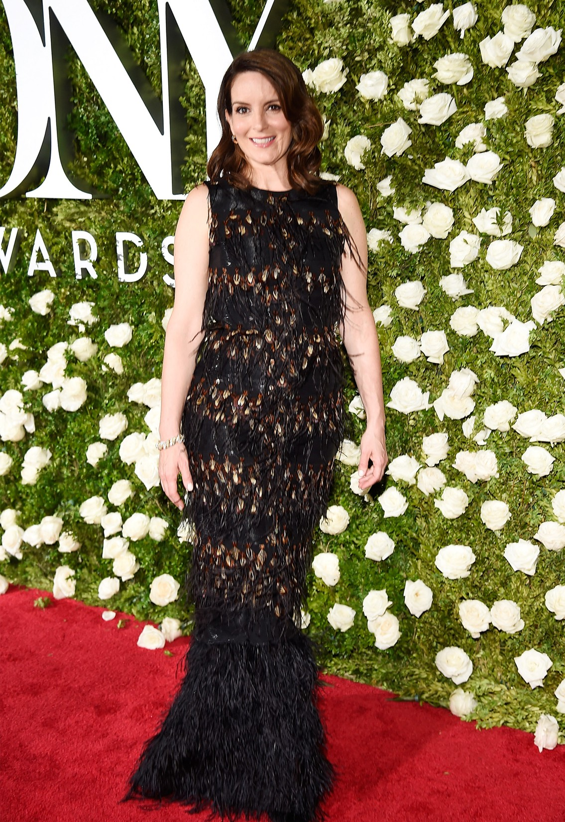 Tina Fey attends the 2017 Tony Awards at Radio City Music Hall on June 11, 2017 in New York City.