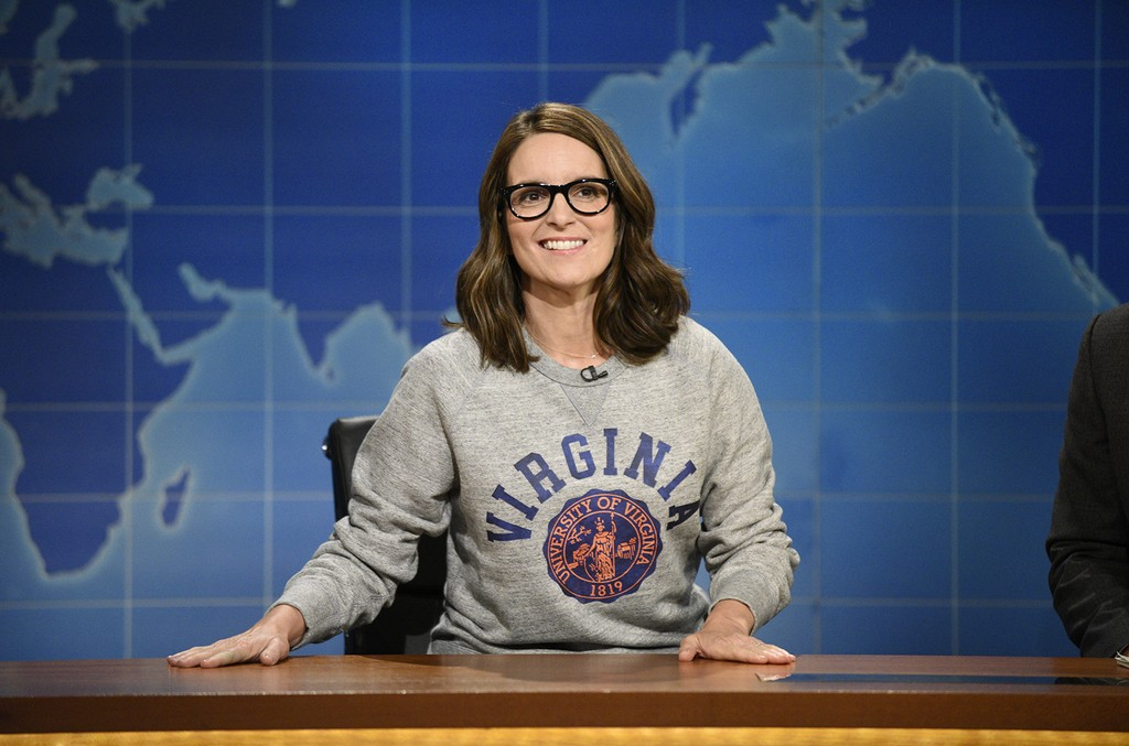 Tina Fey on Saturday Night Live's Weekend Update