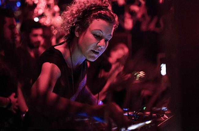 tINI DJing in 2015.