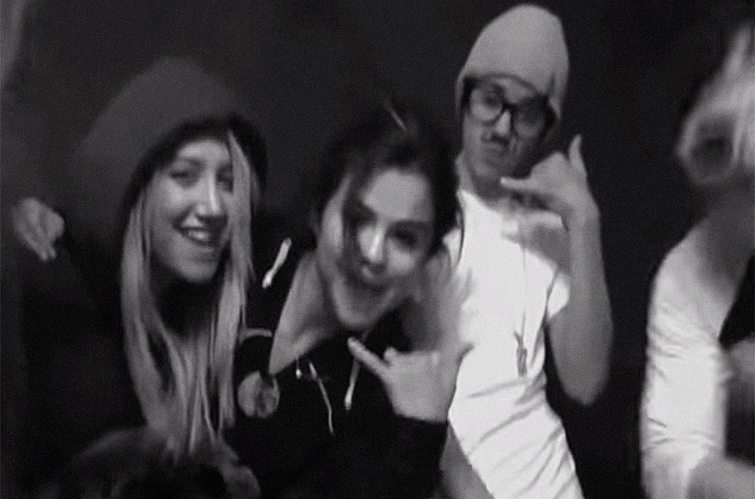 Ashley Tisdale, Selena Gomez and Justin Bieber