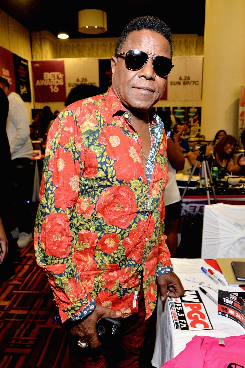 Tito Jackson at the 2016 BET Experience