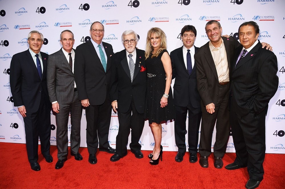 T.J. Martell Board Members: David Salter, Tom Corson, Charlie Feldman, Founder Tony Martell, Laura Heatherly, Rick Krim, Marcus Peterzell and Kid Leo