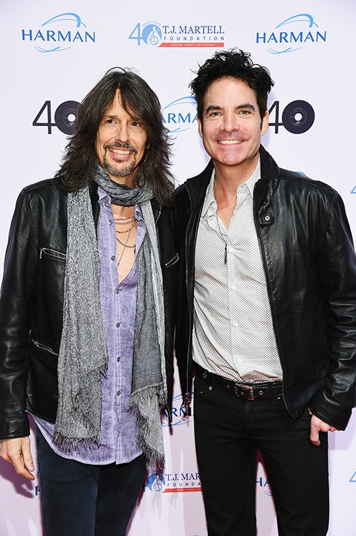 Foreigner Lead Singer Kelly Hansen and Lead Singer of Train Pat Monahan