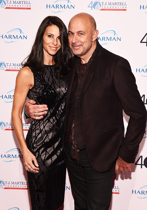 Joyce Zybelberg Varvatos and Designer John Varvatos