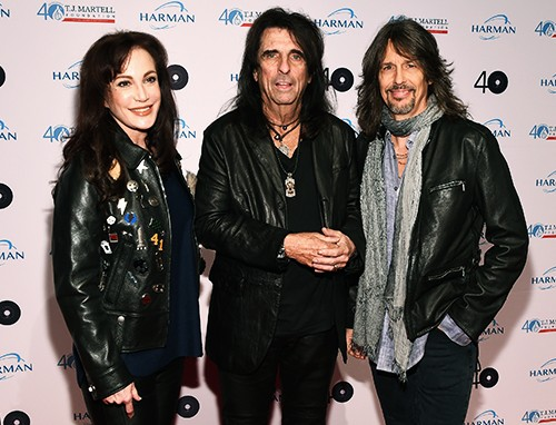 Sheryl Goddard, Alice Cooper and Foreigner Lead singer Kelly Hansen