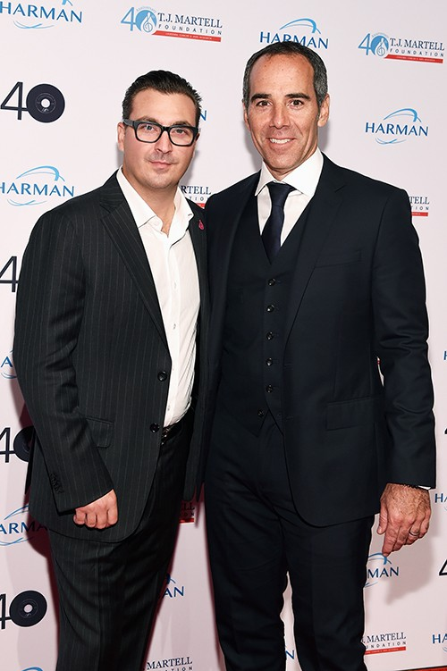 Co-president of Guggenheim Media's Entertainment Group John Amato and CEO of Republic Records Monte Lipman