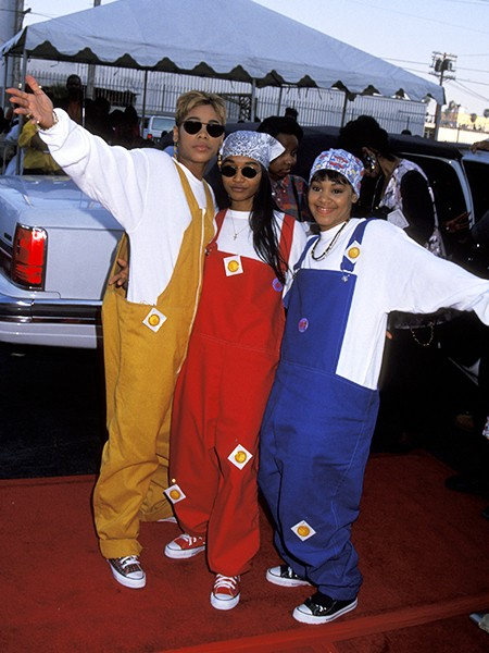 TLC on the 7th Annual Soul Train Music Awards