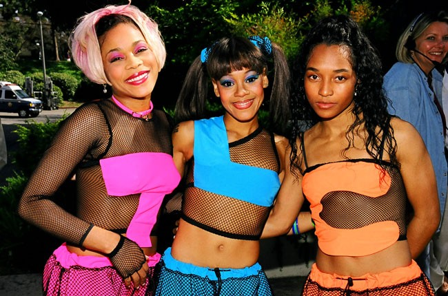 Tionne 'T-Boz' Watkins, Lisa 'Left Eye' Lopes and Rozonda 'Chilli' Thomas of TLC