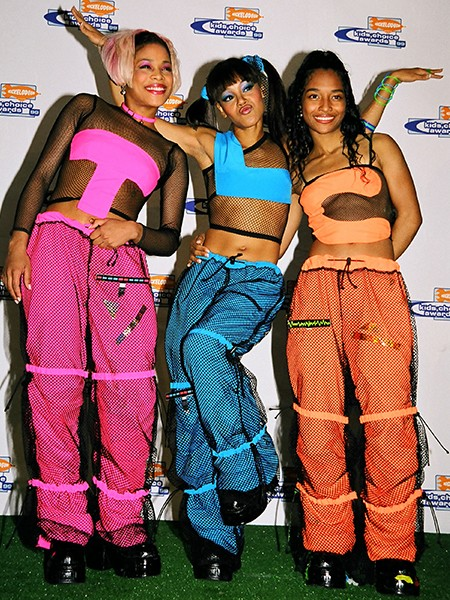 TLC at Nickelodeon's Kid's Choice Awards