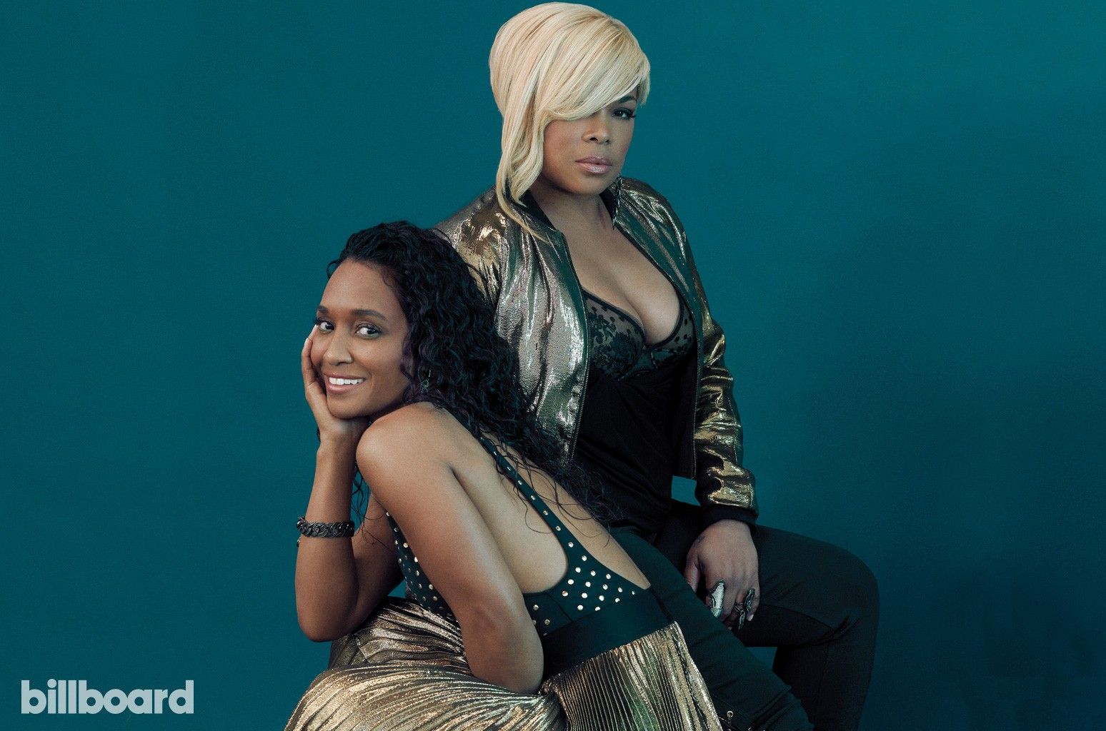 TLC photographed on May 22nd at Cactus Cube Studio in West Hollywood.