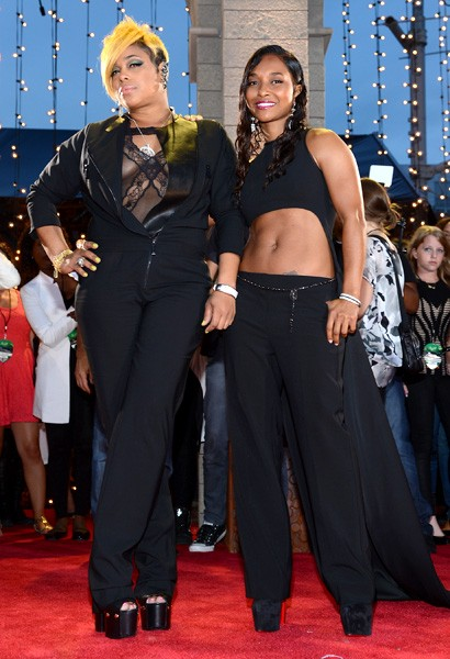 T-Boz and Chilli of TLC
