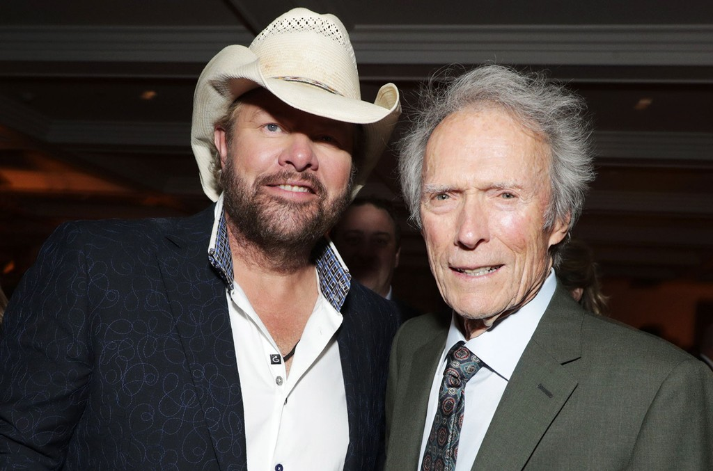Toby Keith and Clint Eastwood