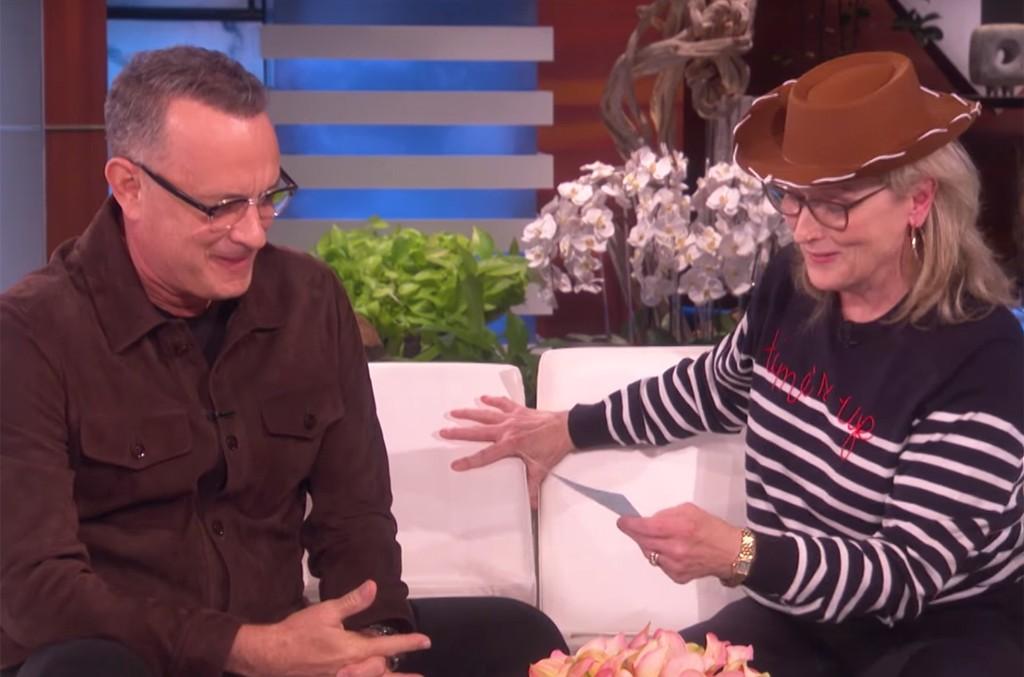 Tom Hanks and Meryl Streep