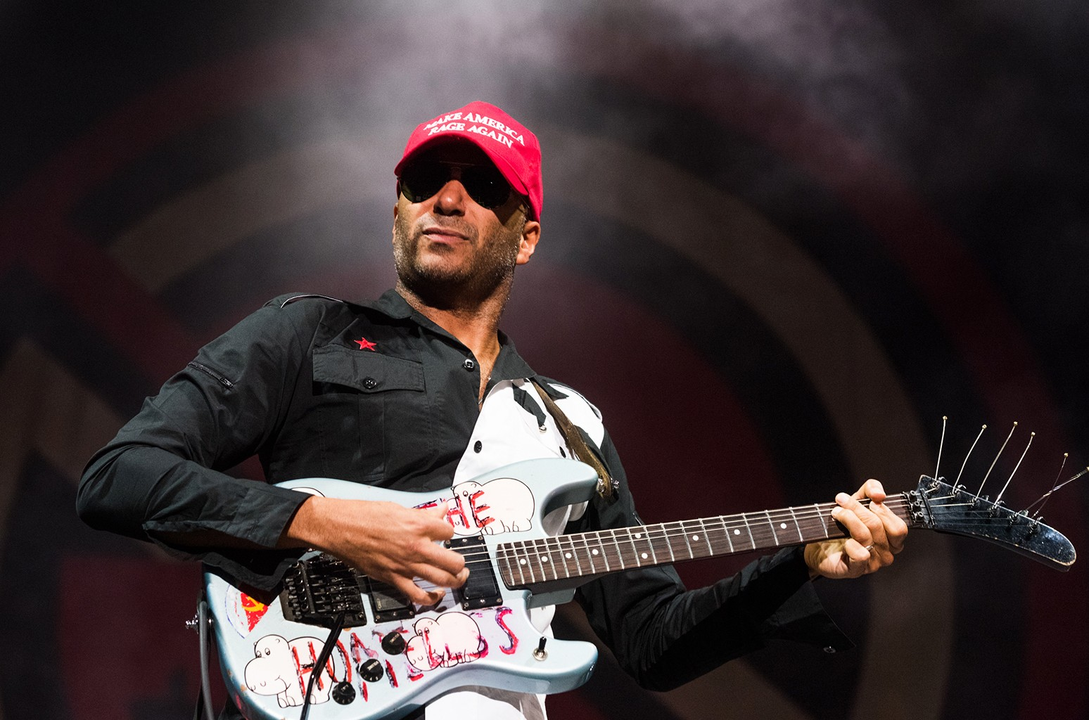 Tom Morello performs in 2016