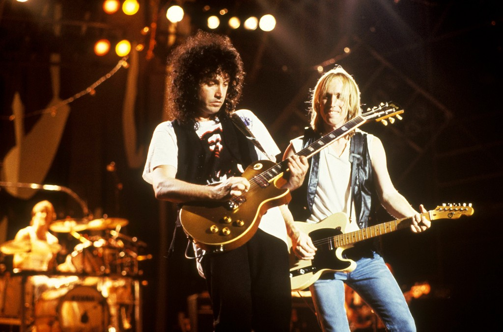 Mike Campbell & Tom Petty, 1987