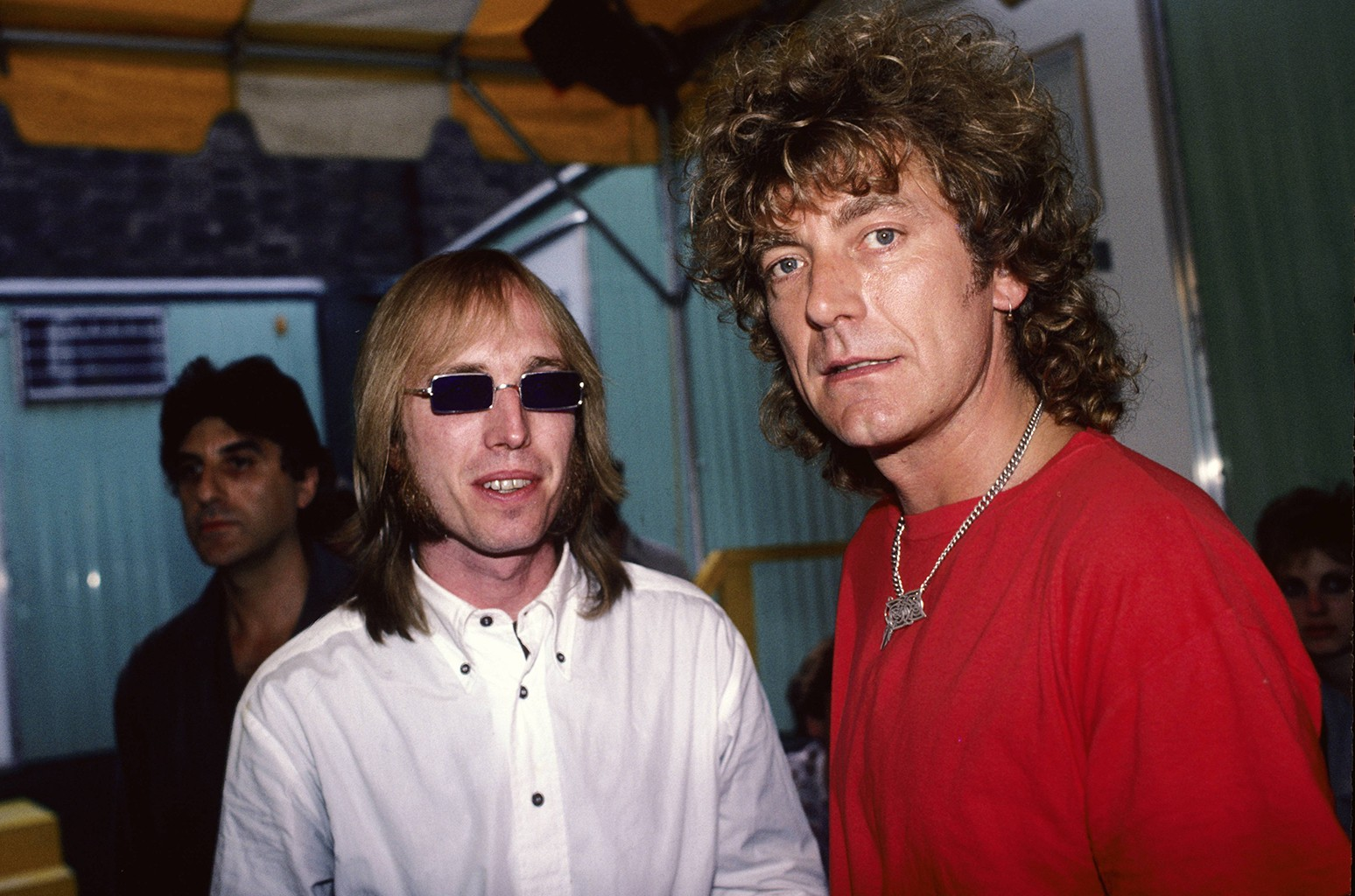 Tom Petty and Robert Plant