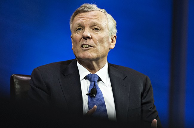 Tom Rutledge, president and chief executive officer of Charter Communications, speaks at INTX: The Internet & Television Expo in Chicago, Illinois, U.S., on Wednesday, May 6, 2015.