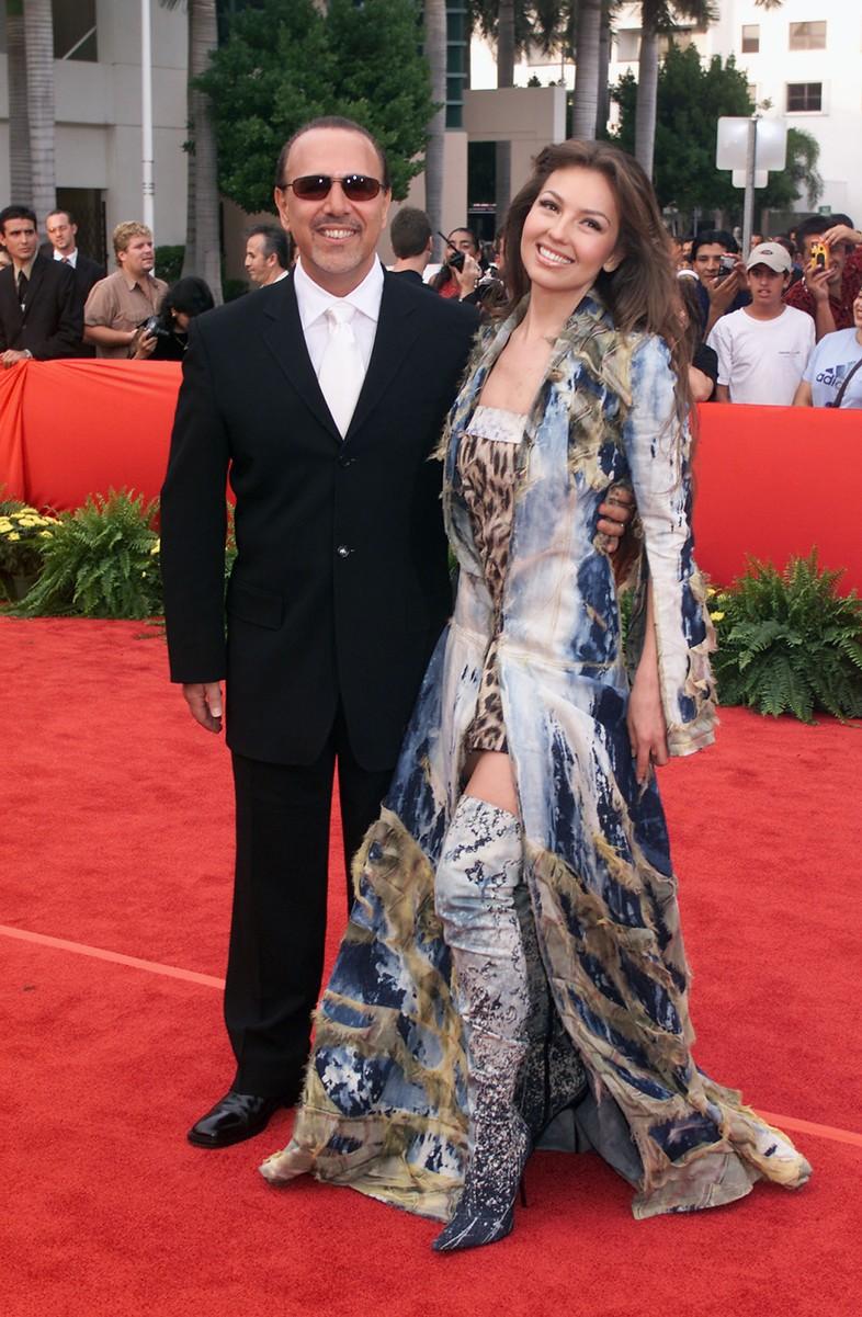 Tommy Mottola & Thalia