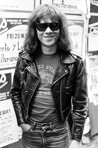 Tommy Ramone of The Ramones