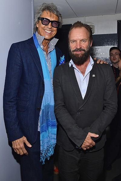 Tommy Tune and Sting