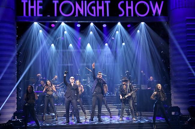 Pitbull The Tonight Show Fallon