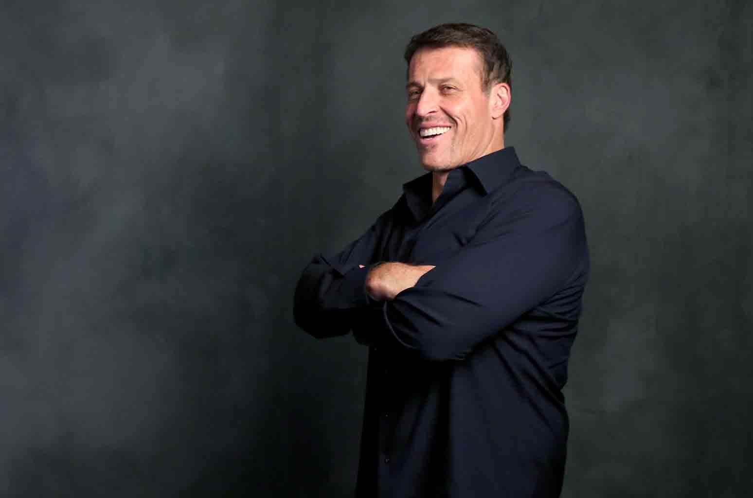 Tony Robbins attends The Samsung Studio at SXSW on March 15, 2016 in Austin.