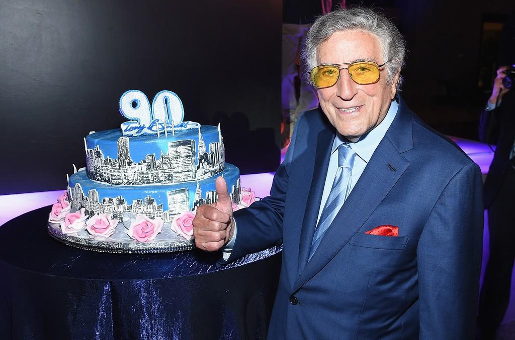 Ladies 90th birthday cake